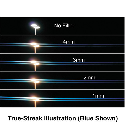 """Schneider 4 x 5.65"""" 1mm Red True-Streak Filter"""