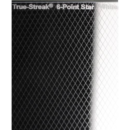 """Schneider 4 x 4"""" True-Streak 6 Point Star Square Filter (Clear)"""