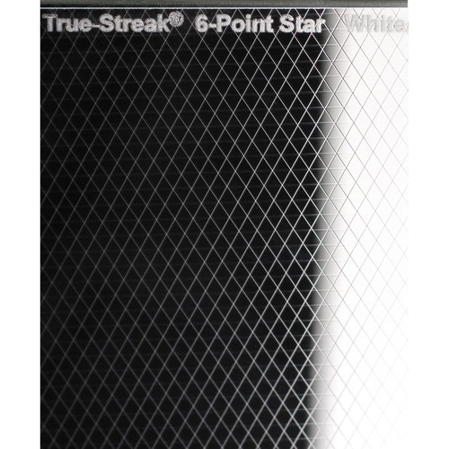"Schneider True-Streak 6-Point Star 6.6 x 6.6"" Filter (Clear)"