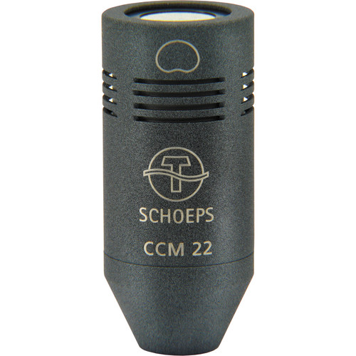 Schoeps CCM 22 Open Cardioid Compact Microphone with LEMO Disconnect