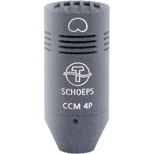 Schoeps CCM 4P LG Compact Condenser Microphone (Cardioid, Detachable Lemo to XLR-3M)