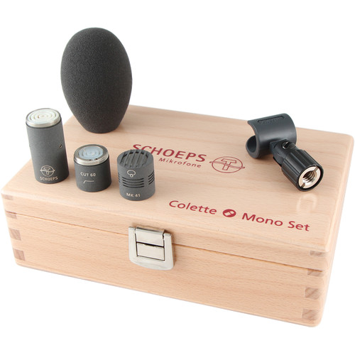 Schoeps Colette CMC 1 Microphone Amp, MK 41 Supercardioid Condenser Capsule, and Low-Cut Filter (Matte Gray)