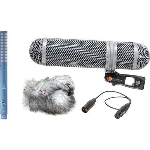 Schoeps CMIT5U Shotgun Microphone Kit (Blue)