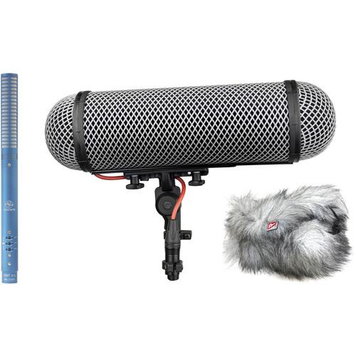 Schoeps CMIT 5U Shotgun Microphone and Rycote Windshield Kit