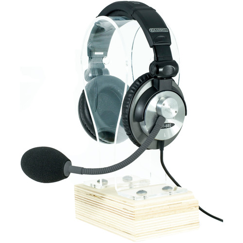 Schoeps HSC 4VP Integrated Headset with Ultrasone 680 Headphones and B5 Popscreen (Moderate Proximity Compensation)