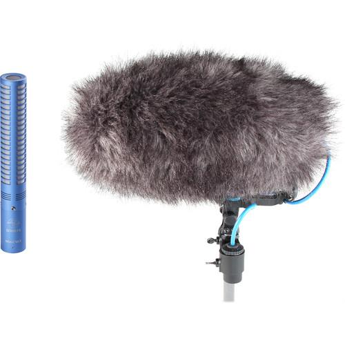 Schoeps MiniCMIT Mono Windshield Set - Short Shotgun Microphone with Included Windshield (Blue)