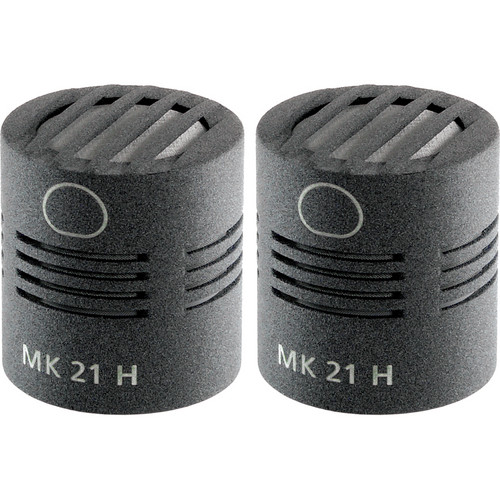 Schoeps MK 21H Microphone Capsule (Matched Pair, Matte Gray)