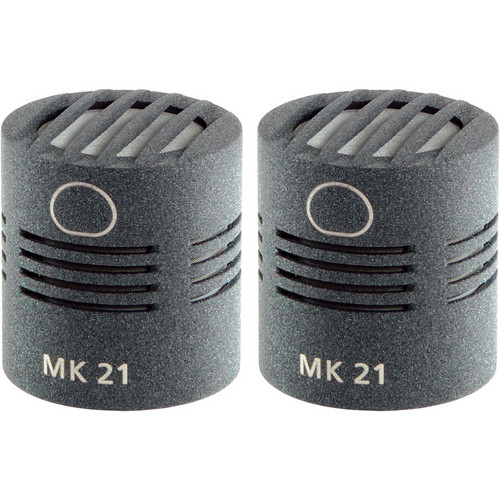 Schoeps MK 21 Microphone Capsule (Matched Pair, Matte Gray)