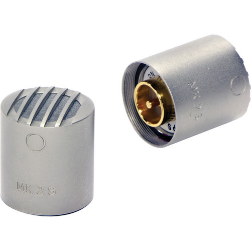 Schoeps MK 2S Microphone Capsule (Matched Pair, Nickel Finish)