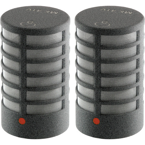 Schoeps MK 41V Microphone Capsule (Matched Pair, Matte Gray)