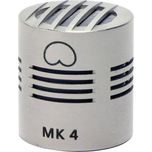 Schoeps MK 4 Microphone Capsule (Nickel Finish)