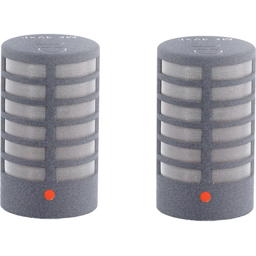 Schoeps MK 4VPG Microphone Capsule (Matched Pair, Matte Gray)