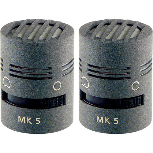Schoeps MK 5 Microphone Capsule (Matched Pair, Matte Gray)