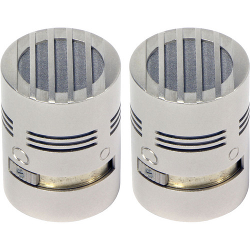 Schoeps MK 5 Microphone Capsule (Matched Pair, Nickel Finish)
