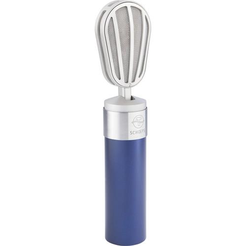 Schoeps V4 UB Studio Vocal Microphone (Blue)