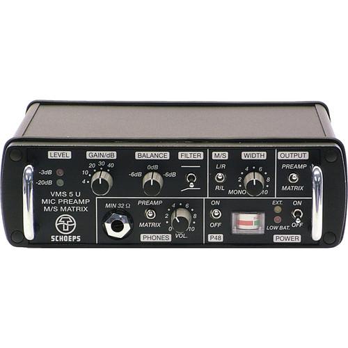 Schoeps VMS 5 U Stereo Microphone Preamplifier