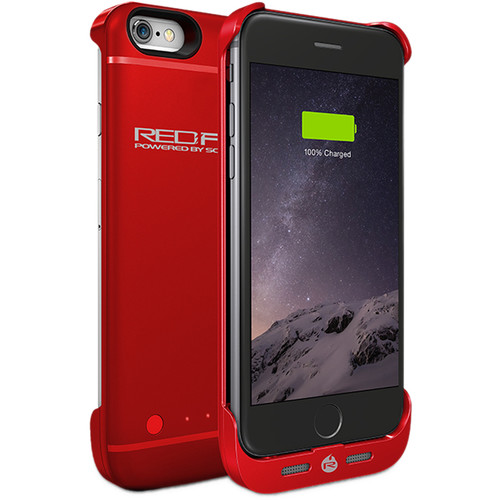 Schumacher Fuel Pack Case for iPhone 6/6S (Red)