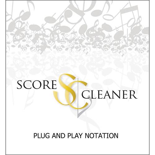 ScoreCleaner ScoreCleaner - Plug and Play Notation Software (Teacher Edition)