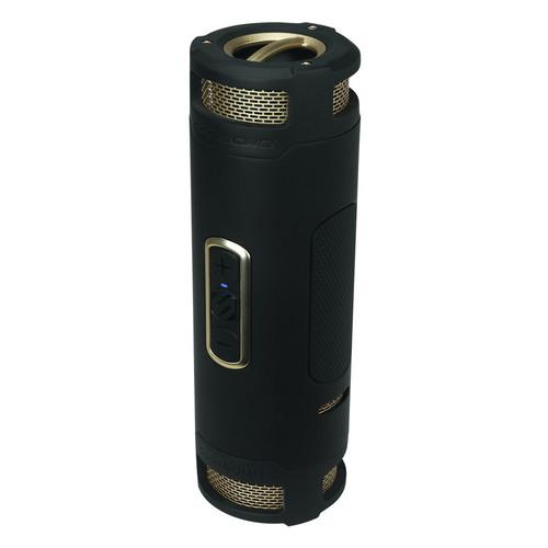 Scosche boomBOTTLE+ Portable Speaker (Black/Gold)