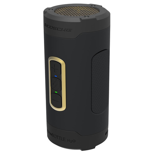 Scosche BoomBottle H2O+ Wireless Speaker (Gold)