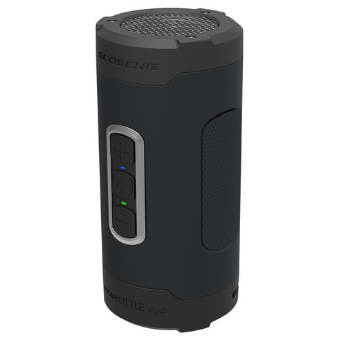 Scosche BoomBottle H2O+ Wireless Speaker (Space Gray)