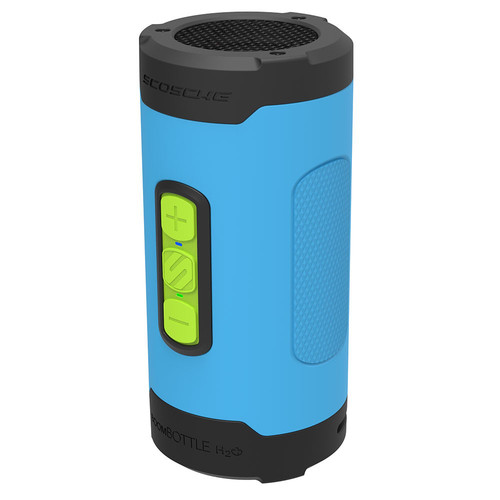 Scosche BoomBottle H2O+ Wireless Speaker (Tech Sport Blue)