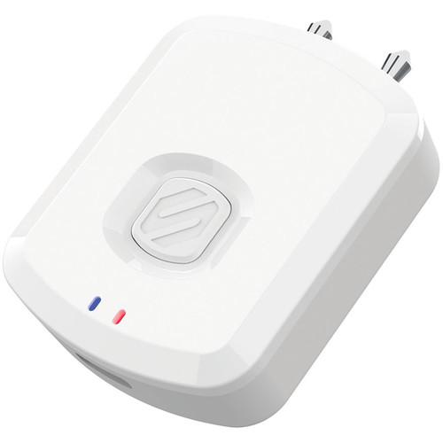 Scosche FlyTunes Bluetooth Wireless Audio Transmitter (White)