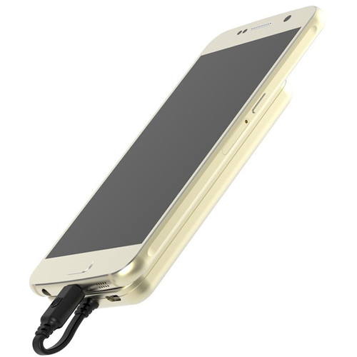 Scosche MagicMount PowerBank micro-USB 4000mAh Battery Pack (Gold)