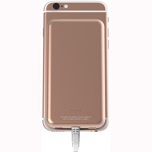 Scosche MagicMount PowerBank Lightning 4000 mAh Battery Pack (Rose Gold)