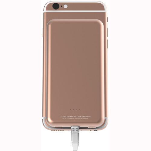 Scosche MagicMount PowerBank Lightning 4000 mAh Battery Pack (Rose Gold)