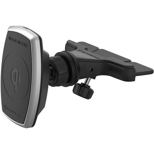 Scosche MagicMount Pro Qi Wireless Charging Magnetic Universal CD Mount