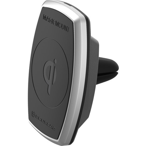 Scosche MagicMount Pro Qi Wireless Charging Magnetic Car Vent Mount