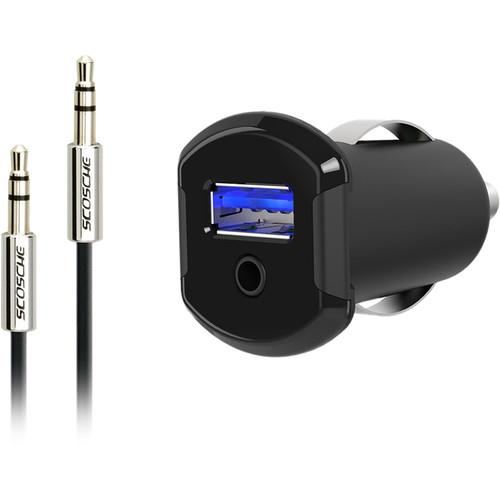 Scosche StrikeDrive Converter 3.5mm to Lightning Devices Car Converter