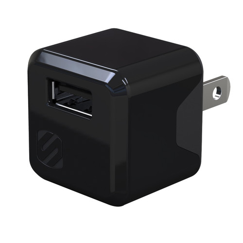 Scosche superCUBE Compact USB Wall Charger (Black)