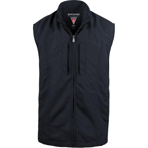 SCOTTeVEST RFID Travel Vest for Men (Large, Navy)
