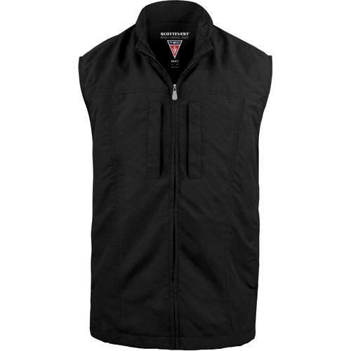 SCOTTeVEST RFID Travel Vest for Men (Medium, Black)