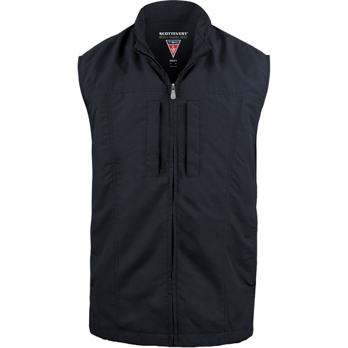 SCOTTeVEST RFID Travel Vest for Men (Small, Navy)