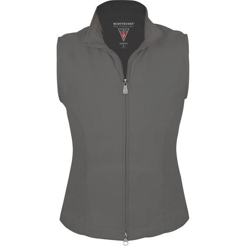 SCOTTeVEST RFID Travel Vest for Women (XXL, Gray)