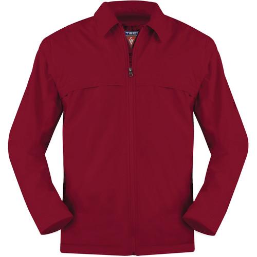 SCOTTeVEST Sterling Jacket for Men (Large, Red)
