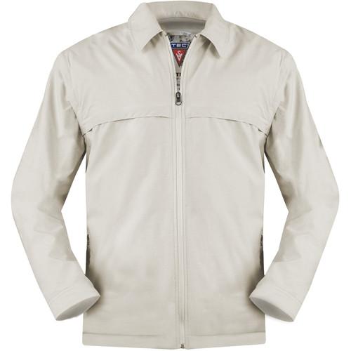 SCOTTeVEST Sterling Jacket for Men (Medium, Beige)