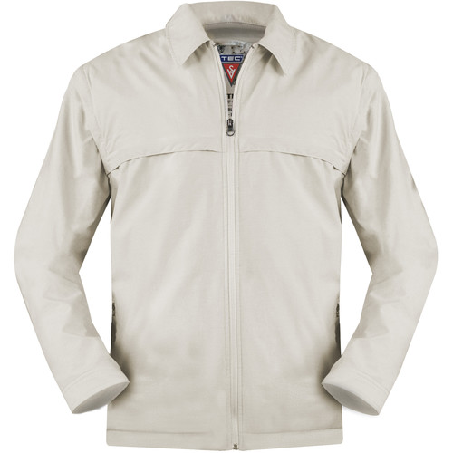 SCOTTeVEST Sterling Jacket for Men (Small, Beige)