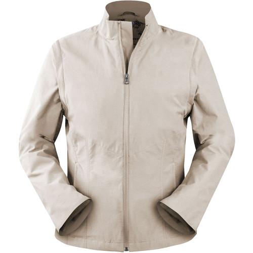 SCOTTeVEST Sterling Jacket for Women (Medium, Beige)