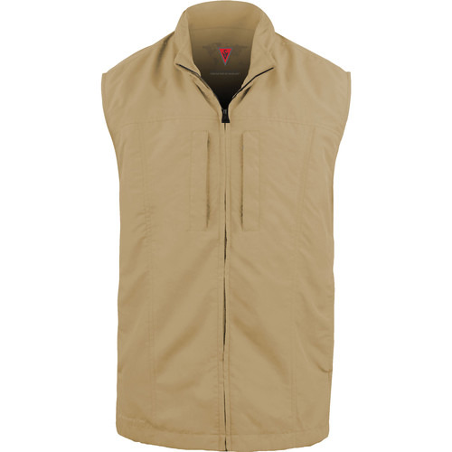 SCOTTeVEST Travel Vest for Men (Medium, Khaki)