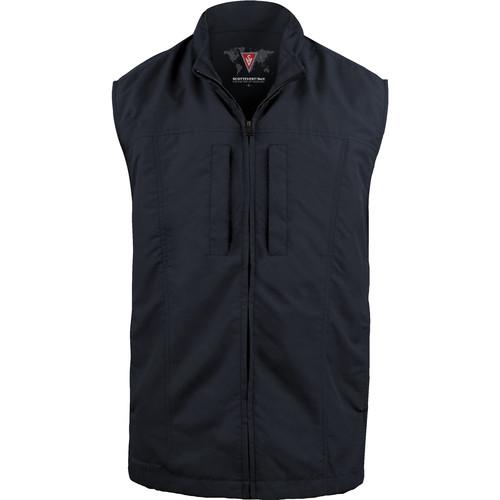 SCOTTeVEST Travel Vest for Men (Small, Navy)