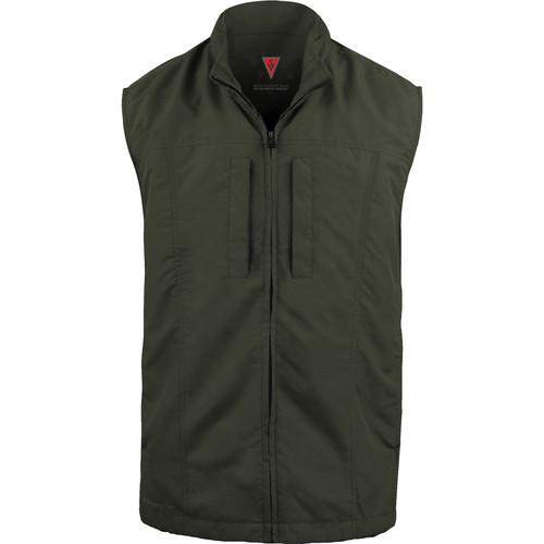 SCOTTeVEST Travel Vest for Men (Small, Olive)
