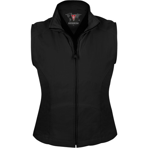 SCOTTeVEST Travel Vest for Women (Large, Black)
