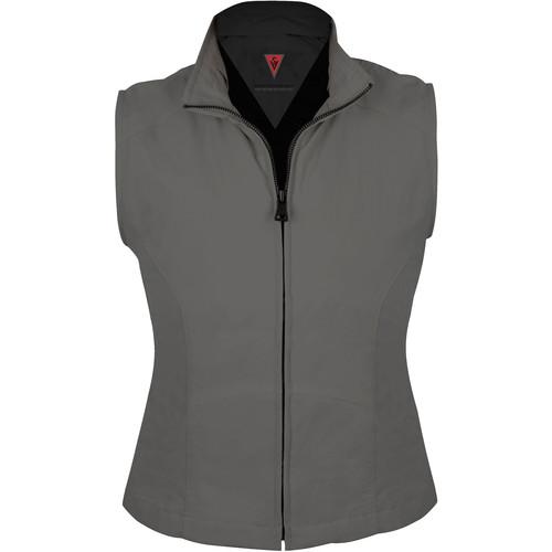 SCOTTeVEST Travel Vest for Women (Large, Gray)