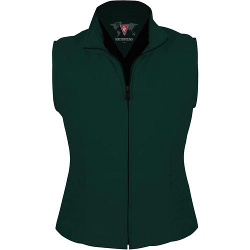 SCOTTeVEST Travel Vest for Women (Large, Hunter Green)