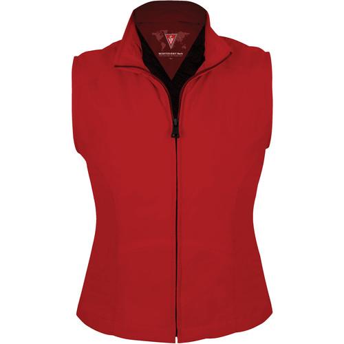 SCOTTeVEST Travel Vest for Women (Large, Red)