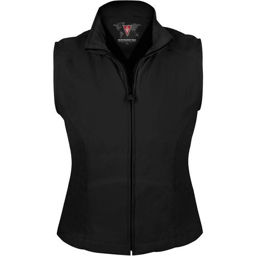 SCOTTeVEST Travel Vest for Women (Medium, Black)